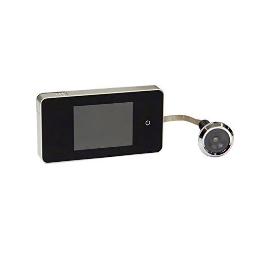 FELGNER digitaler Türspion RVW - 2,6 Zoll LCD-Display - 0,3 Megapixel Kamera - kann bei jeder Tür mit Türspion nachgerüstet werden