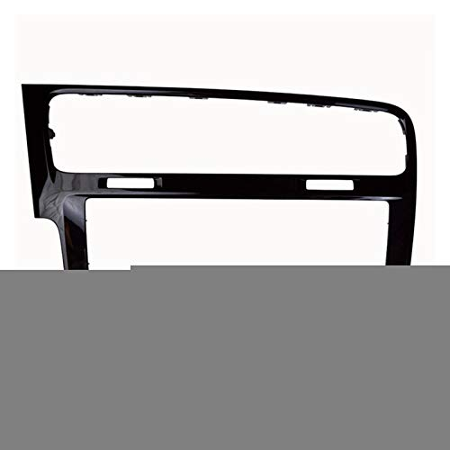 Wishful Frame de decoración de Radio de 8 Pulgadas Pantalla estéreo de 8 Pulgadas Ajuste para Volkswagen VW Golf 7 7.5 MK7 MK7.5 MQB MIB 3 Piano Negro/Gris Color (Color Name : Black)