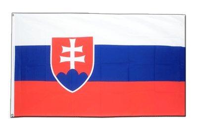 Slowakei Flagge, slowakische Fahne 90 x 150 cm, MaxFlags®