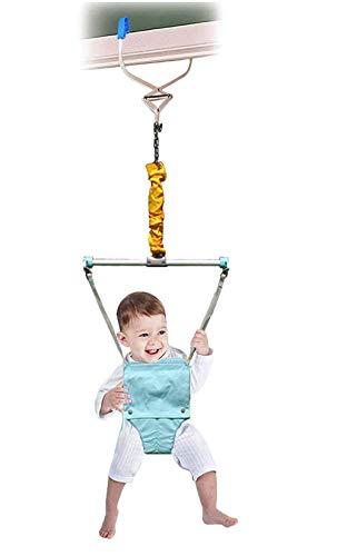 DiLiDiLi Baby Door Jumpers and Bouncers Exerciser with Door Clamp Adjustable Strap Baby Door Jumper for Baby Toddler Infant 6-24 Months Indoor Baby Door Jumper
