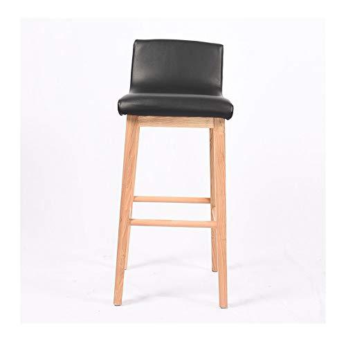 Tabourets de bar Tabouret de bar minimaliste noir Tabouret de design créatif Chaise de bar Chaise de salle à manger