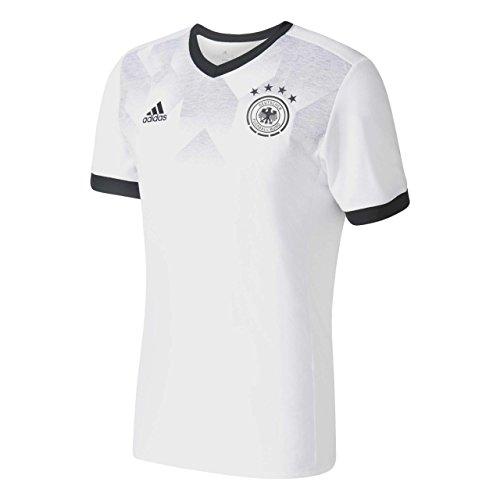 adidas DFB H Preshi Camiseta de Selección Alemana de Fútbol, Hombre, Blanco...