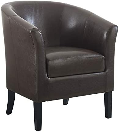 Best Linon Home Dcor Linon Home Decor Simon Club Chair, 33