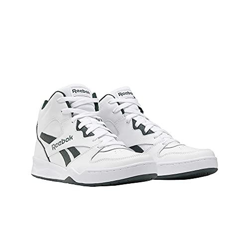 Reebok Men's BB4500 Hi 2 Sneaker, White/Dark Forest, 7.5