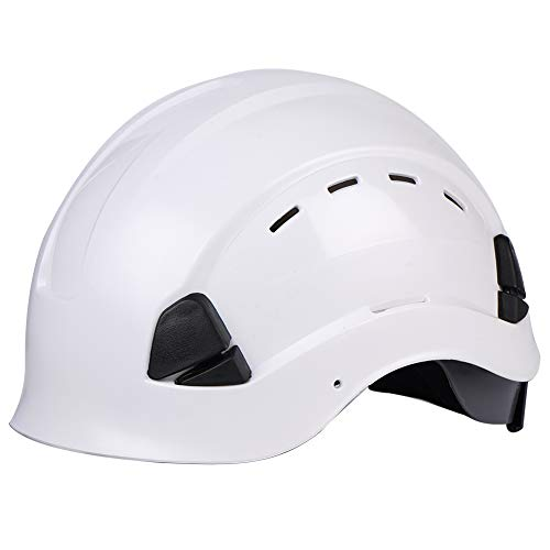 LOHASTAR Safety Hard Hat  ANSI Z891 OSHA Adjustable Helmet  Lightweight ABS Material  6Point Suspension  Safety for ConstructionClimbing and Riding S1 White