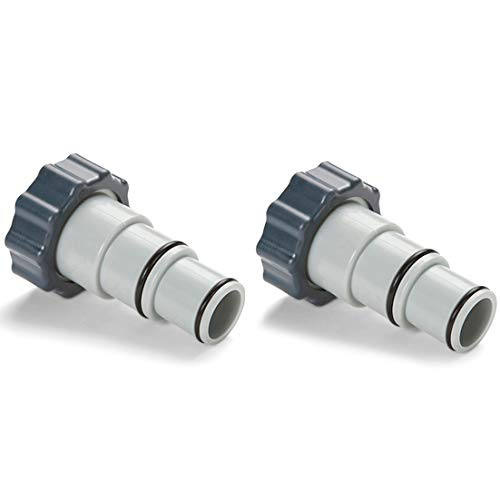 Intex Replacement Hose Adapter A w/Collar for Threaded Connection Pumps (Pair)