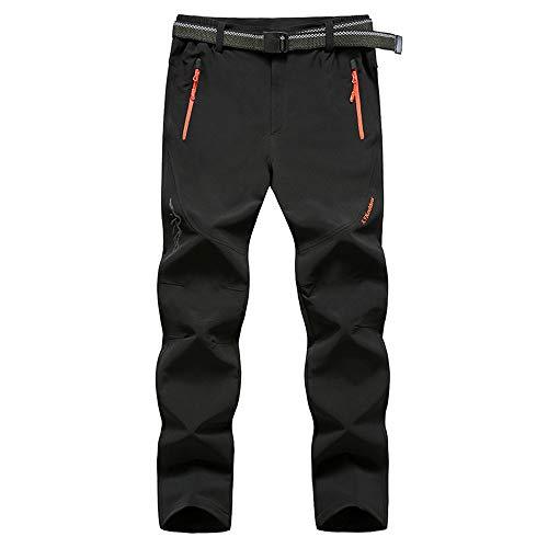 Jogging Pantalons de Survêtement Ceinture Élastique Sport Cargo Pantalons avec Poches, Morbuy Grande Taille Joggers Activewear Pantalons pour Homme (7XL,Noir)