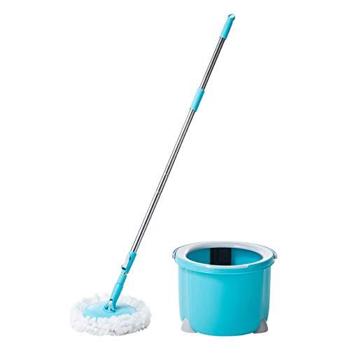 サンワダイレクト回転モップ水拭きモップクリーナー床掃除床モップ200-CD060
