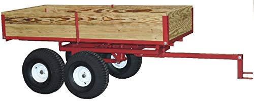 Country Manufacturing ATV Trailer Heavy Duty Model 7550ATV Trailer with Hand Operated Hydraulic Lift