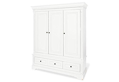 Pinolino 143467G Kleiderschrank 'Emilia' groß, weiß