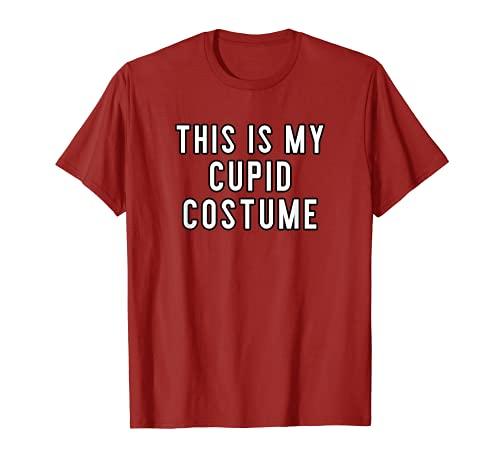 Disfraz de Halloween para parejas, este es mi Cupido Camiseta
