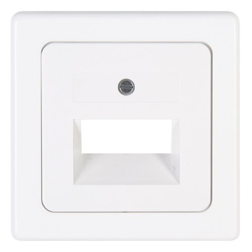 Kopp 346602182 Abdeckung für UEA-Anschlussdose, arktis-weiß