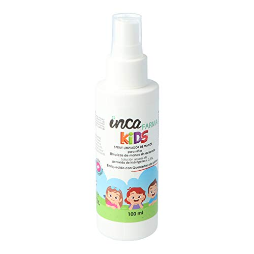 INCA INCA FARMA Kids spray limpiador de manos para niños 100 ml 100 ml