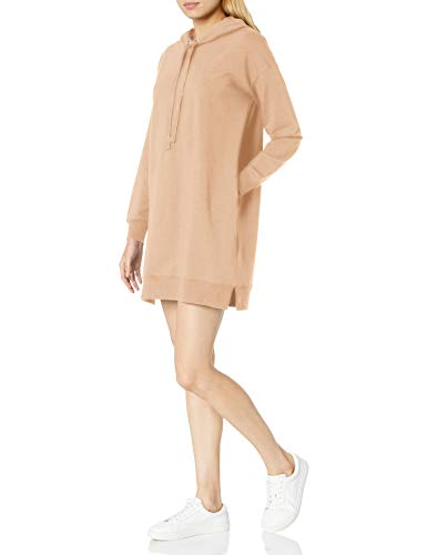Marque Amazon - Iona Mini-robe sweat-shirt à capuche et manches longues par The Drop