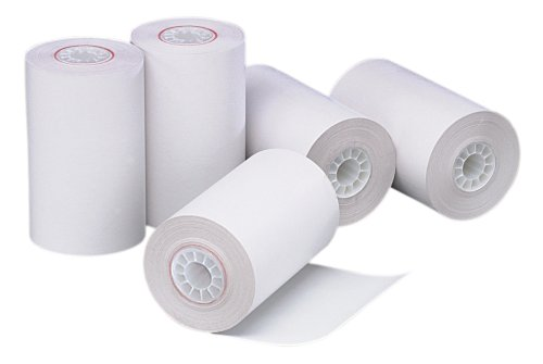 PM Company Perfection POS/Black Image Thermal Rolls, 3.12 Inches x 90 Feet, White, 72/Carton (05209)