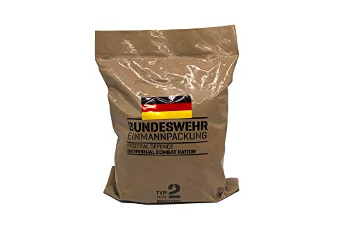New German MRE Army Ration Meal Ready To Eat Emergency Food Supplies Genuine