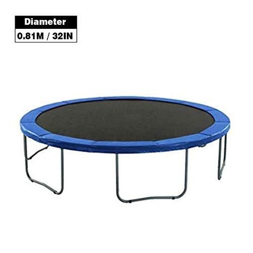 qianele - Cojín de seguridad redondo para cama elástica, resistente a rasguños, protector de bordes, un, 1,01 m