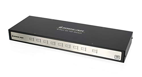 IOGEAR 4K 8-Port Switcher with HDMI (GHSW8481)