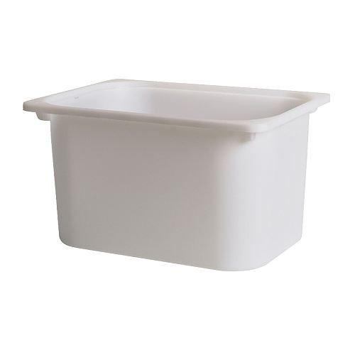 Ikea Trofast Toy Storage Box White, Large