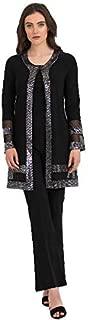 Black & Silver Cardigan Style 194540 - Fall/Winter 2019