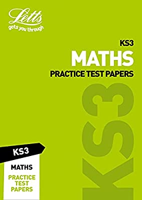 KS3 Maths Practice Test Papers (Letts KS3 Revision Success) by Letts