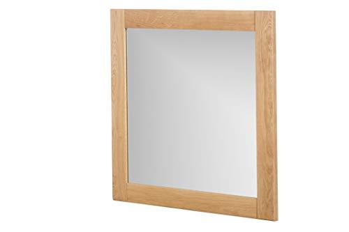 Marca Amazon -Alkove - Hayes - Espejo de madera maciza (juego de 2, roble salvaje)