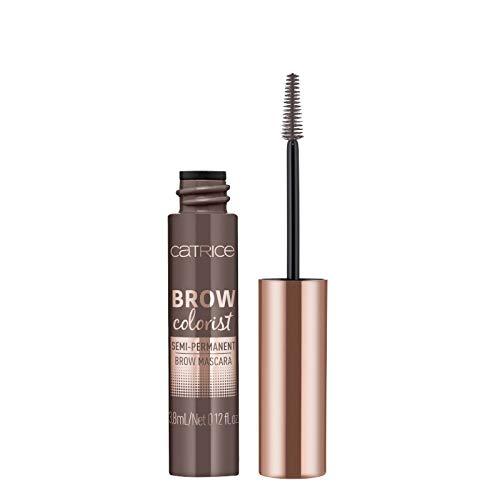 Catrice Brow Colorist Semi-Permanent Brow Mascara, Nr. 030 Dark, braun, volumengebend, definierend, langanhaltend, natürlich, matt, vegan, Nanopartikel frei, ohne Parfüm (3,8ml)