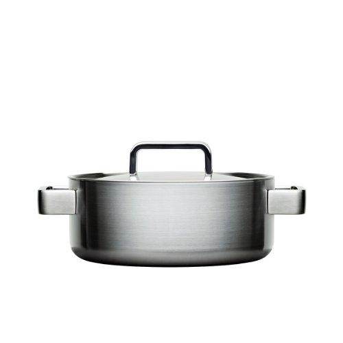 Iittala Tools - Kochtopf mit Deckel - 3,0 l - Gebürsteter Edelstahl