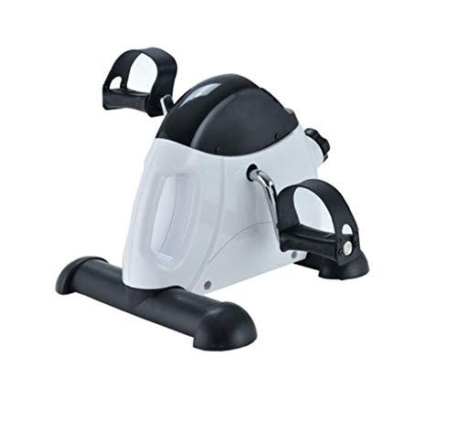 DAFREW Escaladora elíptica Paso a Paso Multifuncional Pedal de Bicicleta de Escritorio de Pasos hogar, Escritorio Ovalada Mini Bici, máquina Etapa de Curvado Ajustable