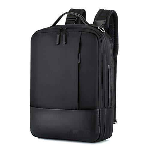 KKCD SeenDa Waterdichte Laptop Tas Voor Macbook Air Pro Dell HP Notebook Rugzak Voor Mannen Vrouwen Handtas Schoudertas, Zwart