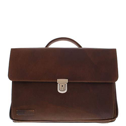 Plevier 36-2 Laptop Bag 43.9 cm (17.3 Inches) Brown Briefcase – Laptop Bags (Briefcase, 43.9 cm (17.3 Inches) Shoulder Strap, 2.5 kg, Brown)