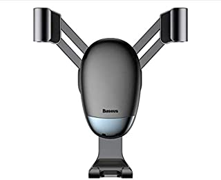 Baseus Mini Gravity Car Phone Holder Universal Car Air Outlet Stand Mount Holder For iPhone Samsung Mobile Phone Holder in...