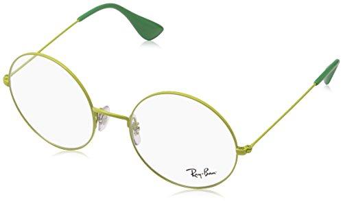 Ray-Ban 0RX6392, Monturas de Gafas Unisex Adulto, Amarillo (Yellow), 53