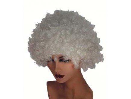 Perruque hair blanc