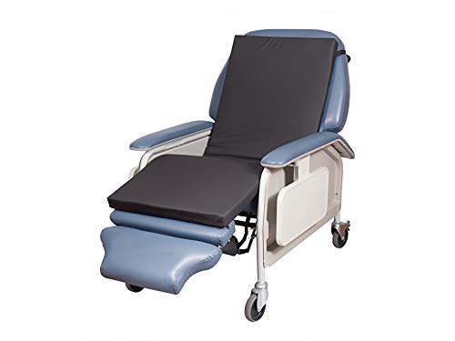 "JDM Folding Portable Dialysis Recliner Chair Pad/Geri Chair Overlay (23"" Width)"