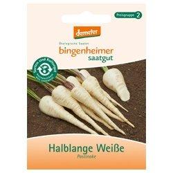 Bingenheimer Saatgut - Pastinake Halblange Weiße - Gemüse Saatgut / Samen