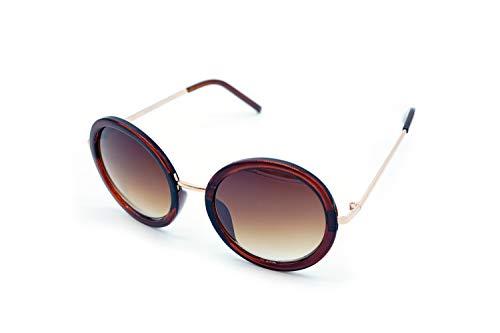 Kost Gafas de sol Mujer 100% protección UVA UV400 - Lentes redondas oversize