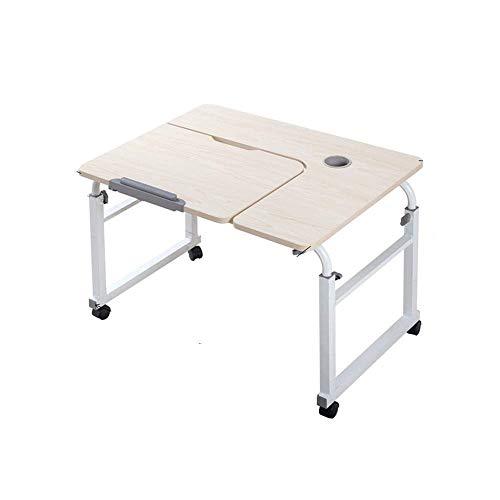 Table D'ordinateur Levable Mobile, Table De Lit D'ordinateur Portable, Support D'ordinateur Et Lecture D'écriture (Couleur : A)