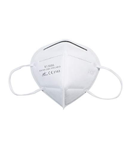 3D Atemschutz Mundschutz -30 PCS - FFP2 Gesichtmasken mit Nasenbügel - 5-Layer Filtrierung Staubschutz Infektionsschutz mit Ohrschlaufen Direktversand aus Deutschland