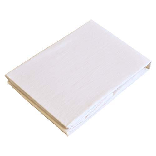 ボックスシーツ 日本製 綿100% ( クイーン 160×200×30cm )生成 ピュアコットン ガーゼ 無添加 無着色コットンマットレス 敷布団 兼用 全周ゴム仕様 | alor21