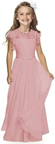 Sittingley Fancy Girls Holy Communion Dresses 1 12 Year Old 8 Dusky Pink product image
