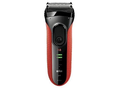Braun Series 3 3050Cc Rasoio per Uomo, Rosso - 1 Prodotto