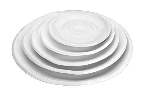 LACOR 62770 Runde Teller gewellt aus Melamine 207 x 28 mm