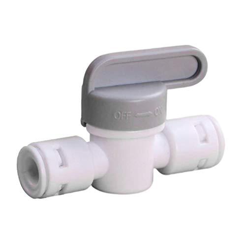 Chenbz Conexión de la válvula de agua purificador rápida durable flexible ajustable cómodo de usar Compacto