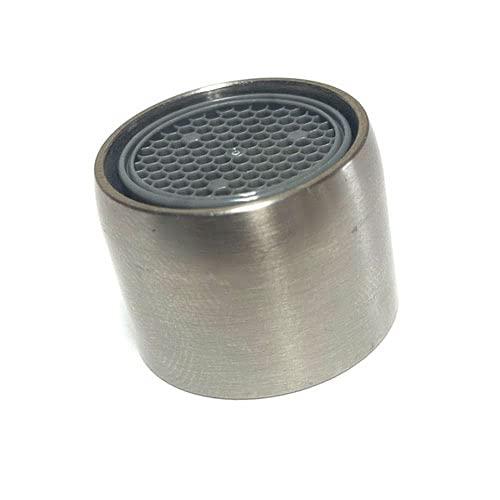 Aireador de grifo de cocina de acero cepillado, antisalpicador, compatible con Franke...