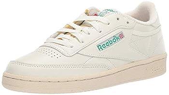 Reebok Women s Club C 85 Sneaker Chalk/Glen Green/Paper White/Excellent Red 9