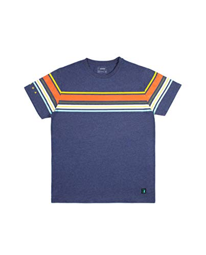 Kimoa Camiseta Tasman, Unisex Adulto, Azul_Navy, M