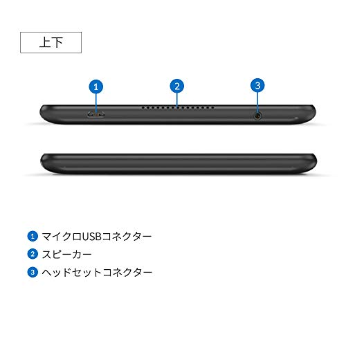 LenovoTabE8WiFiモデル(MediaTekMT8163B/8.0型液晶/2GBメモリー/ストレージ16GB/スレートブラック)ZA3W0042JP