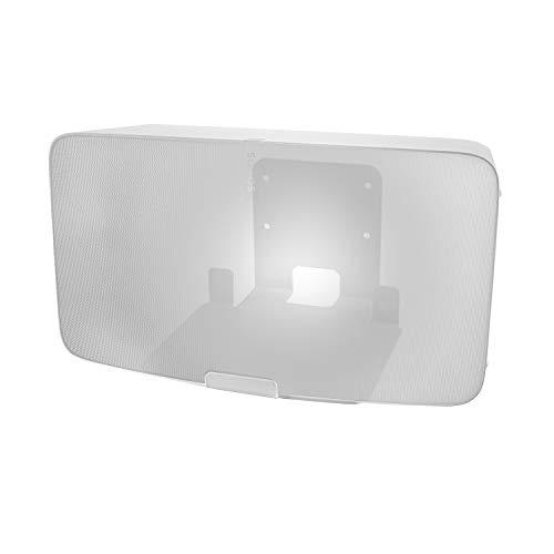 Vebos Support Mural pour Enceinte Sonos Five blanc - Haute Qualité en une expérience optimale dans chaque pièce - Vous permet de suspendre votre Sonos Five5 exactement où vous le voulez - Garantie de deux ans