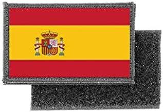 Lucky Patch /écusson Iron on on Patch /écusson Drapeau Espagne Spain Espane Madrid 7 x 5 cm